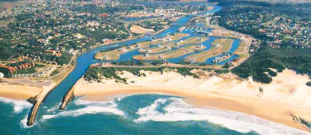 Port Alfred, in the Eastern Cape, South Africa